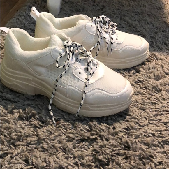 Wild Fable Chunky White Sneakers Target